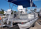 Sun Tracker pontoon 2006